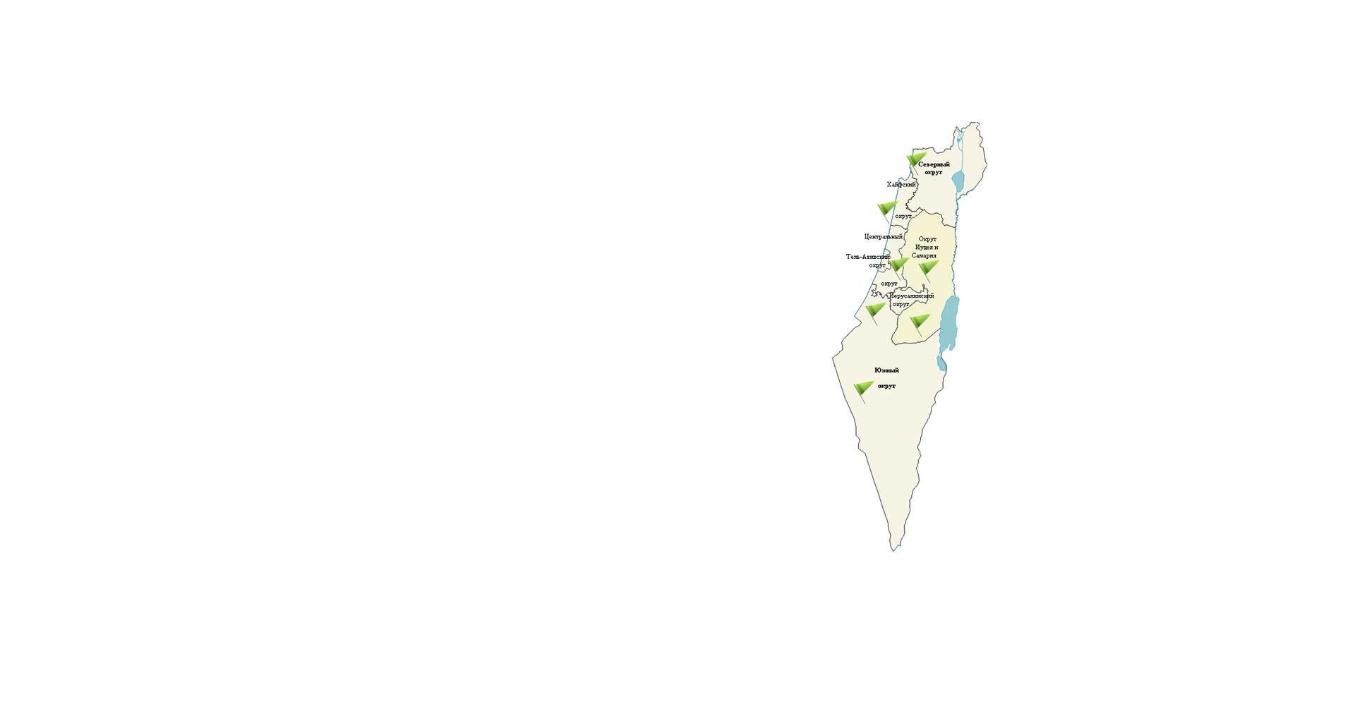 Карта Дистрибьюции